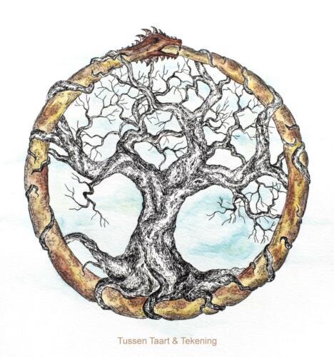levensboom ouroborus