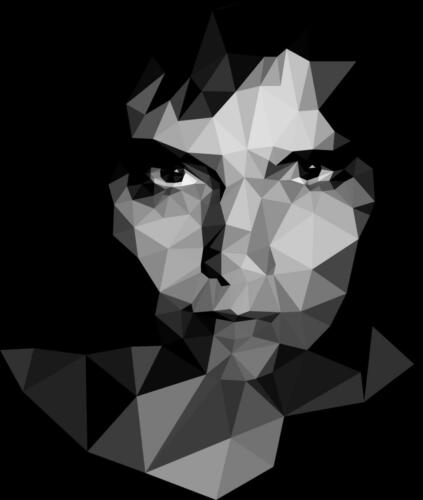lowpoly-portret